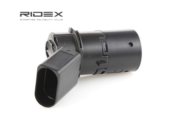 2412P0025 Parking assistance systems Black, Ultrasonic Sensor from RIDEX at low prices - buy now!
