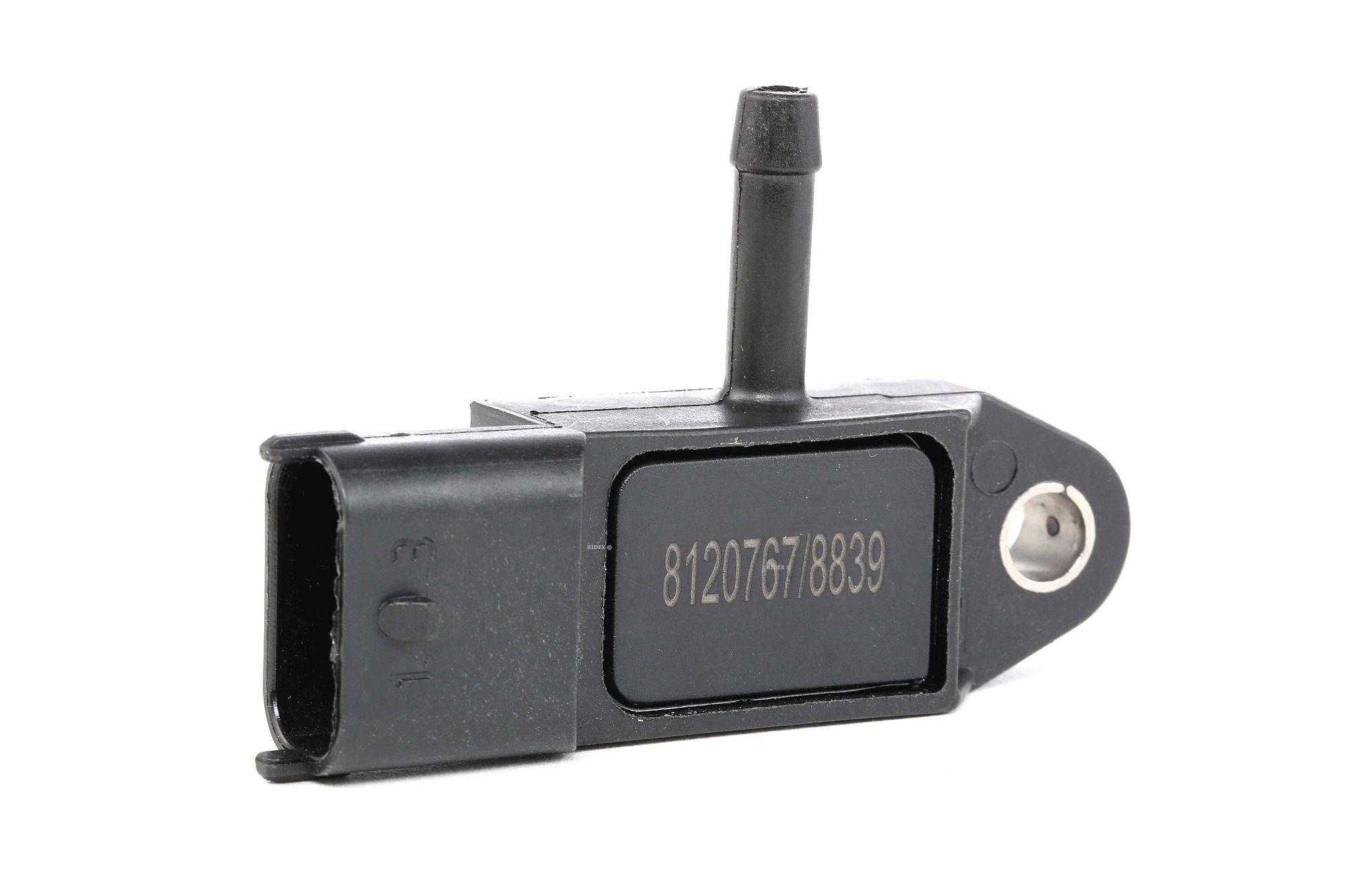 Sensor, Saugrohrdruck RIDEX 3947S0012