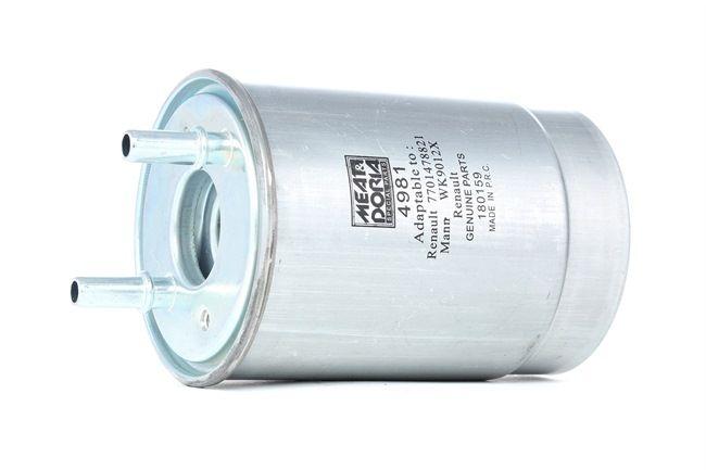 MEAT & DORIA Kraftstofffilter 4981
