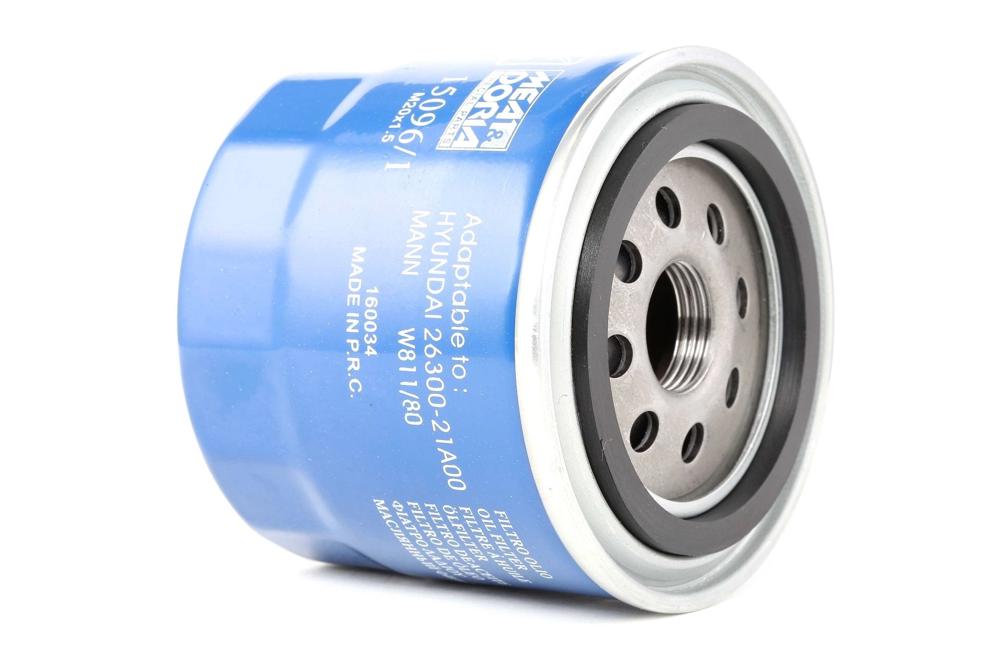 15096/1 MEAT & DORIA Anschraubfilter Ø: 80mm, Höhe: 75mm Ölfilter 15096/1 günstig kaufen