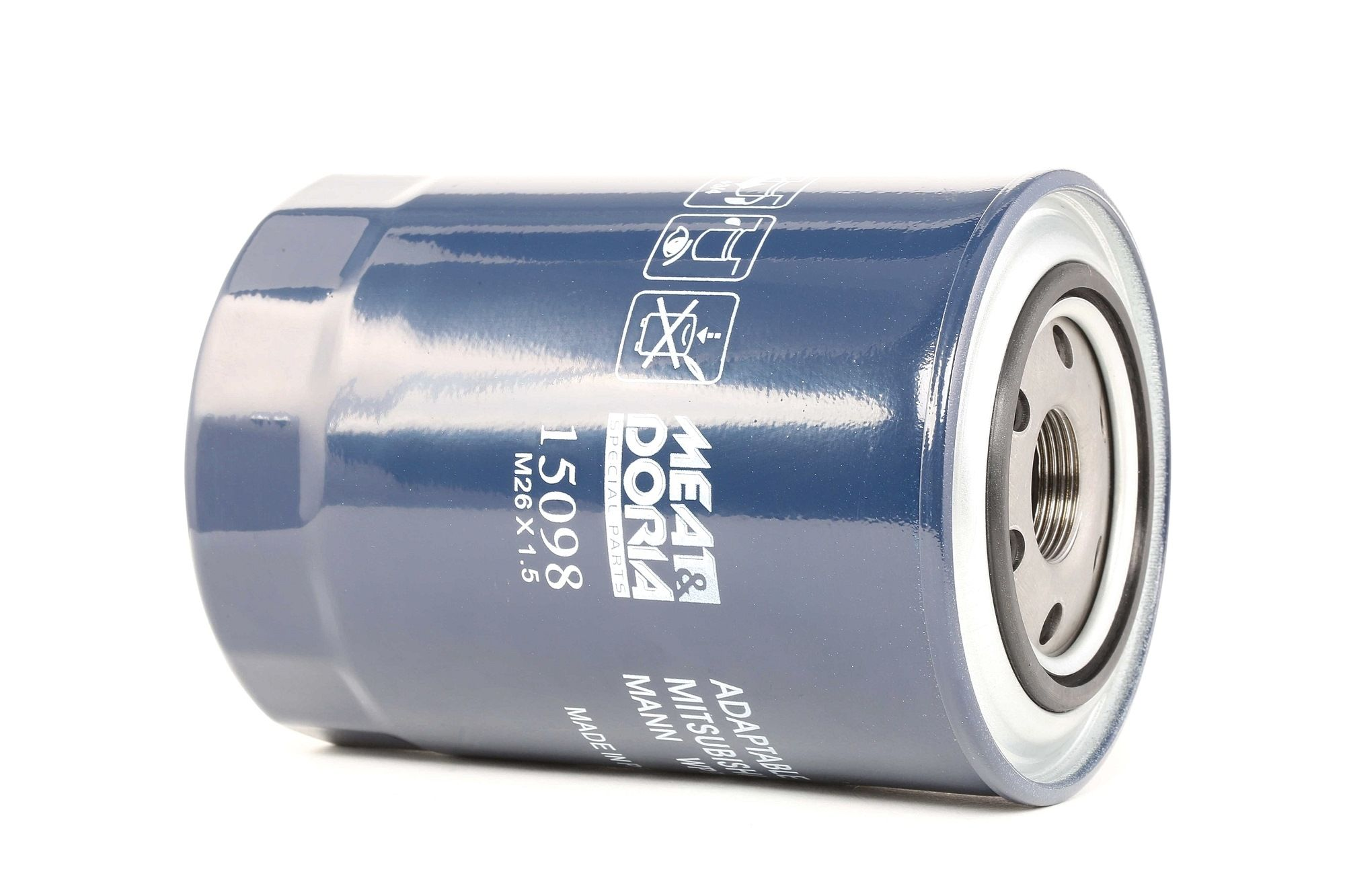 15098 MEAT & DORIA Oliefilter til MITSUBISHI Canter (FE5, FE6) 6.Generation - køb nu