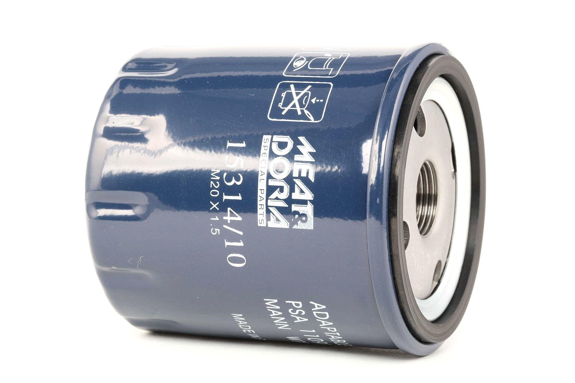 Alyvos filtras 15314/10 MEAT & DORIA — tik naujos dalys