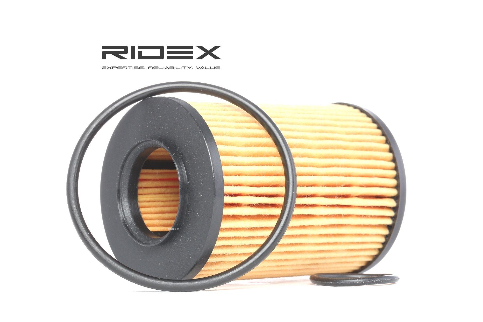 ridex Oliefilter MERCEDES-BENZ 7O0107 2661800009,2661840325,A2661800009  A2661840325