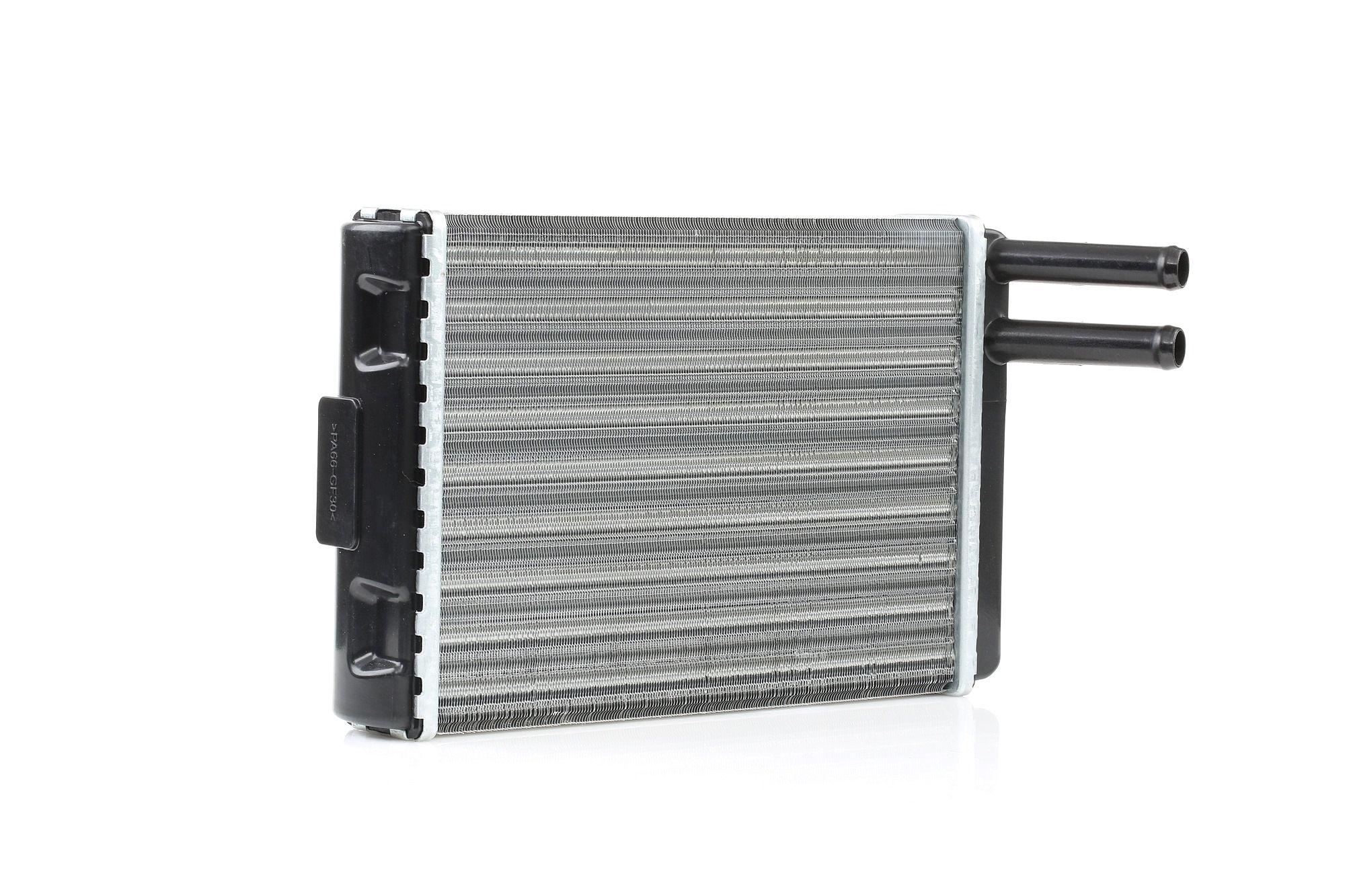 RIDEX: Original Heizungskühler 467H0035 (Aluminium, Kunststoff)