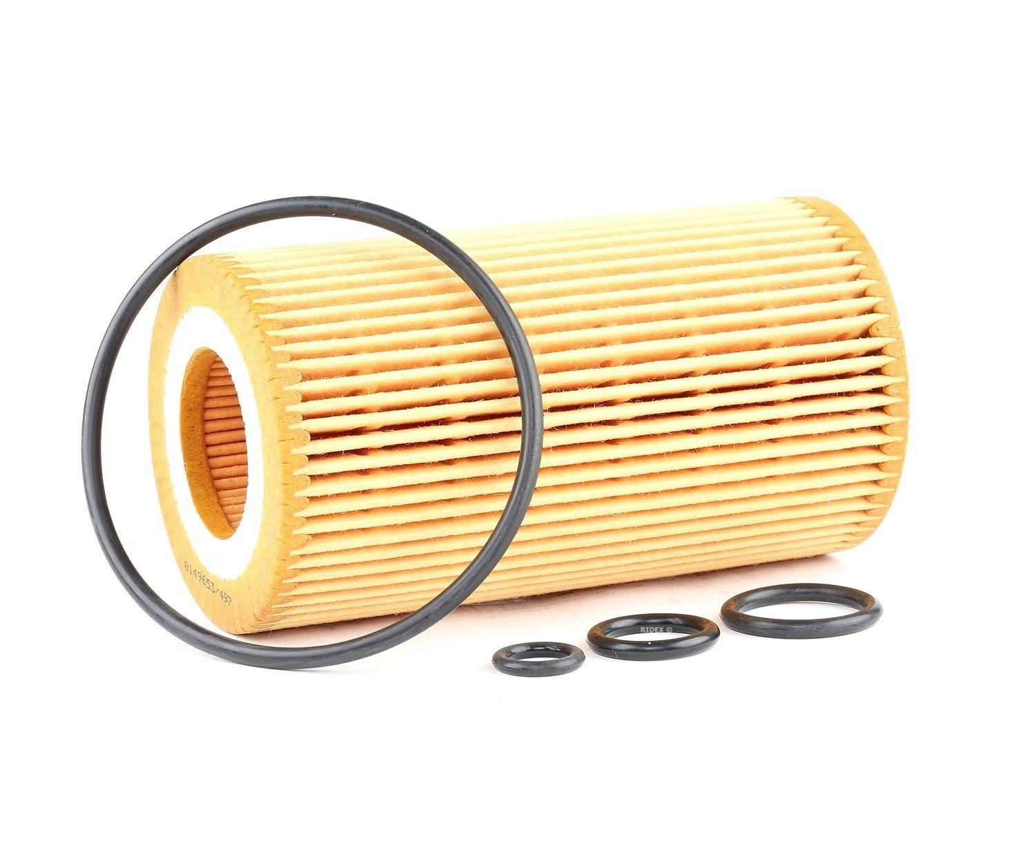 Alyvos filtras 7O0060 su puikiu RIDEX kainos/kokybės santykiu