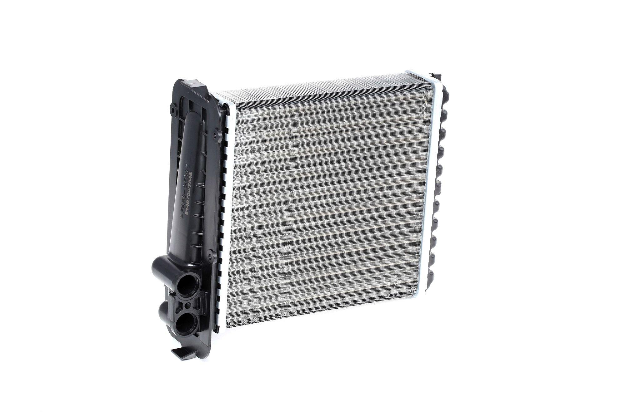 RIDEX: Original Wärmetauscher Heizung 467H0006 (Kühlrippen mechanisch gefügt)