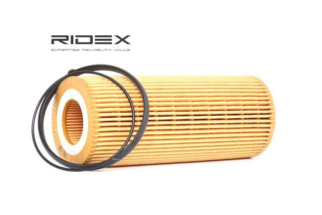 Pērc un aizvieto Eļļas filtrs RIDEX 7O0140