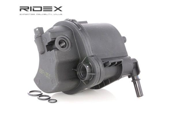 Brændstoffilter 9F0042 med et enestående RIDEX pris-ydelses-forhold