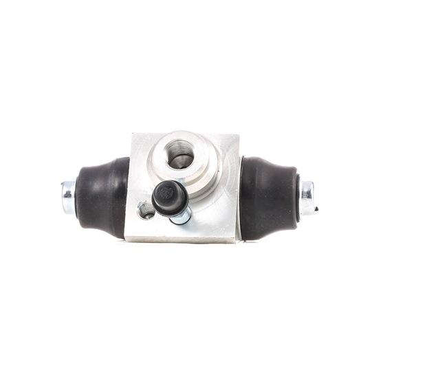 RIDEX: Original Bremszylinder Hinten 277W0018 (Bohrung-Ø: 17,46mm)