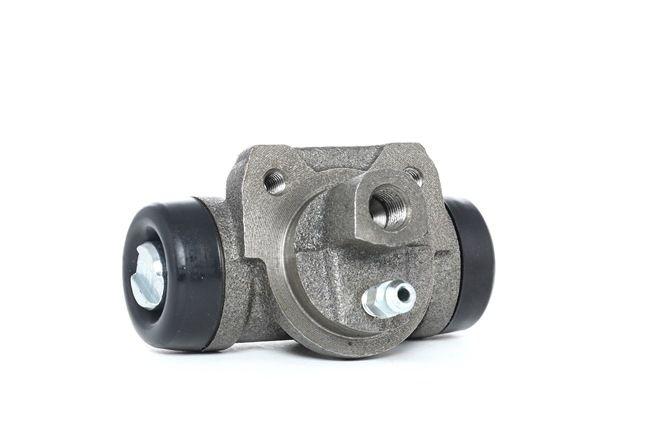 RIDEX: Original Bremsbelagsatz Trommelbremse 277W0038 (Ø: 25,4mm)