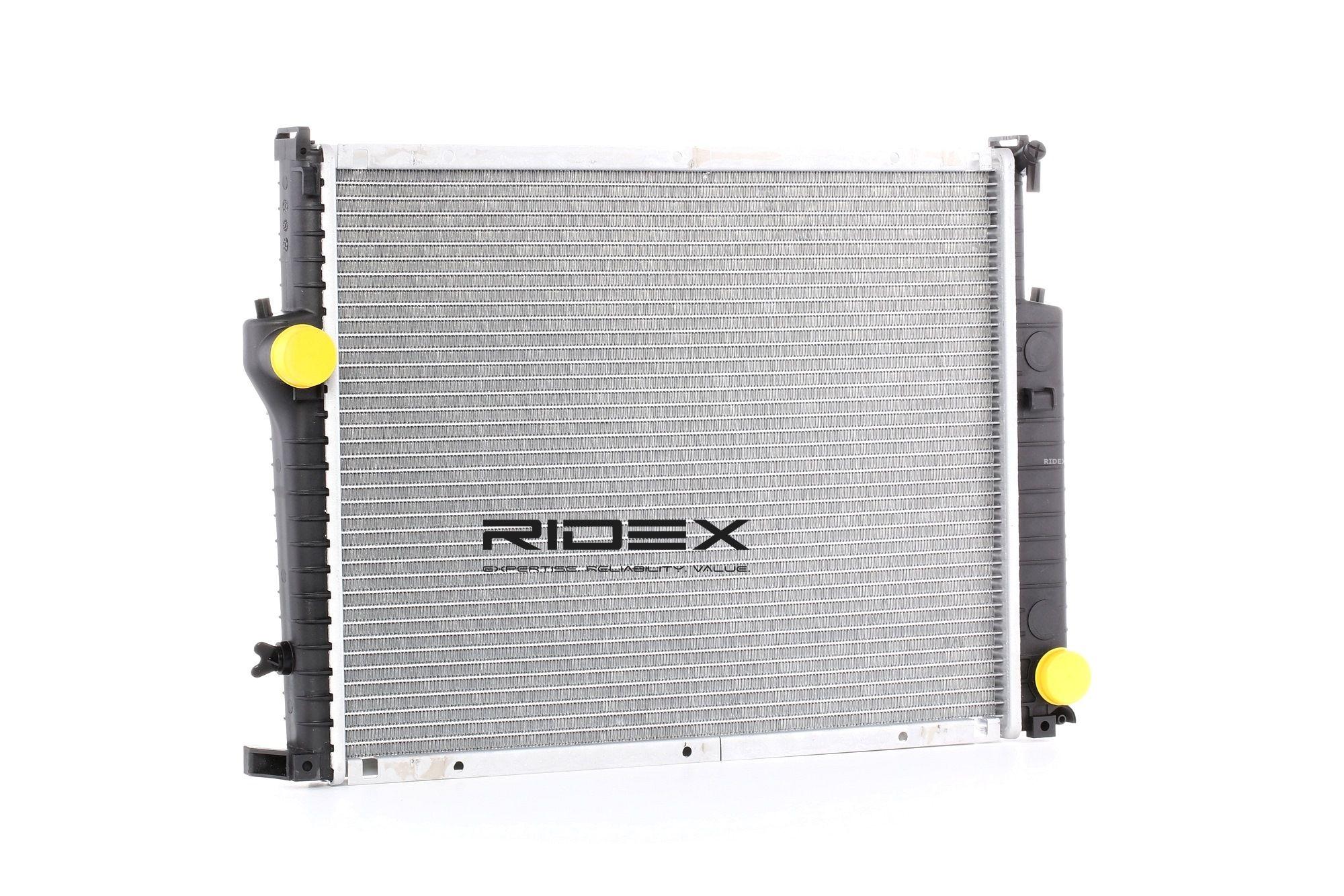 RIDEX: Original Autokühler 470R0207 (Netzmaße: 550x451x34)
