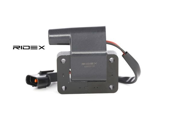 RIDEX Ignition Coil with fastening clamp 689C0139