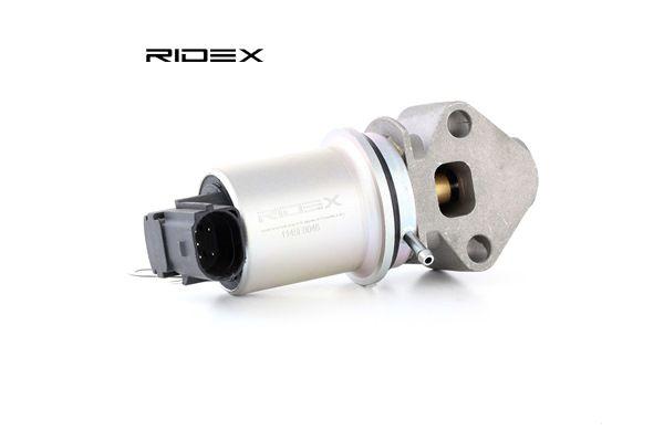 RIDEX Valvola ricircolo gas scarico-EGR 1145E0046 acquista online 24/7