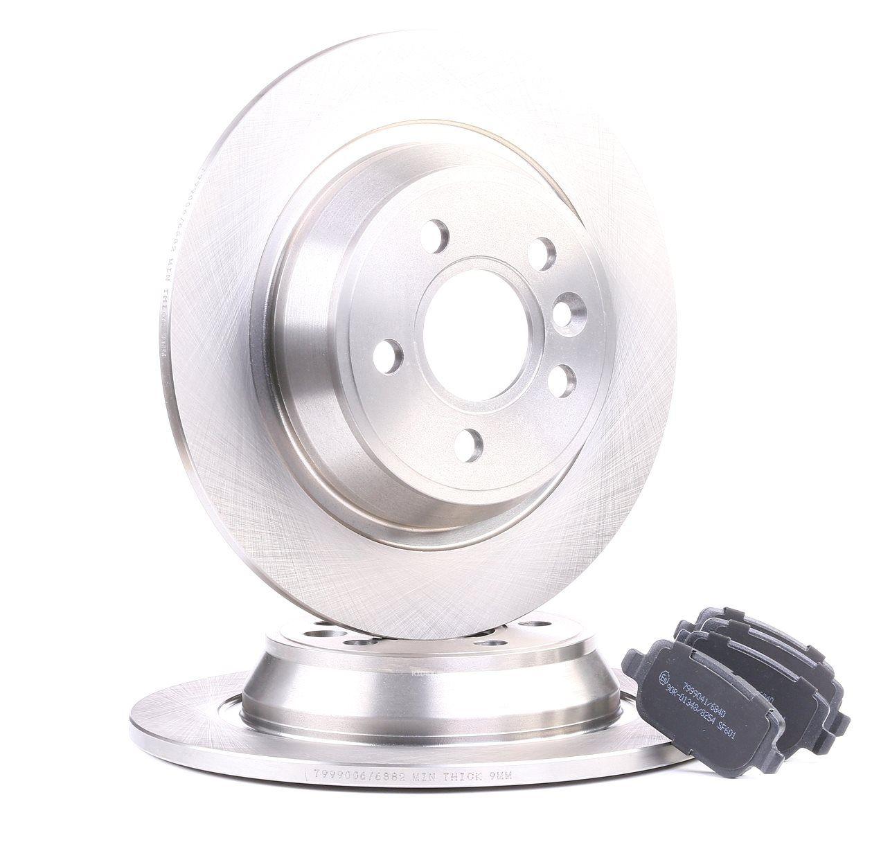 RIDEX: Original Bremsen Set 3405B0043 (Bremsscheibendicke: 10,9, 16,1mm)