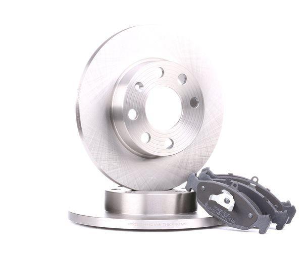 RIDEX спирачен комплект, дискови спирачки 3405B0080 купете онлайн денонощно
