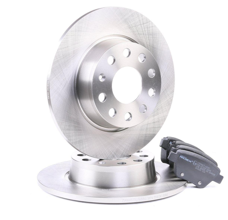 RIDEX: Original Bremsenkomplettsätze 3405B0093 (Bremsscheibendicke: 10mm)