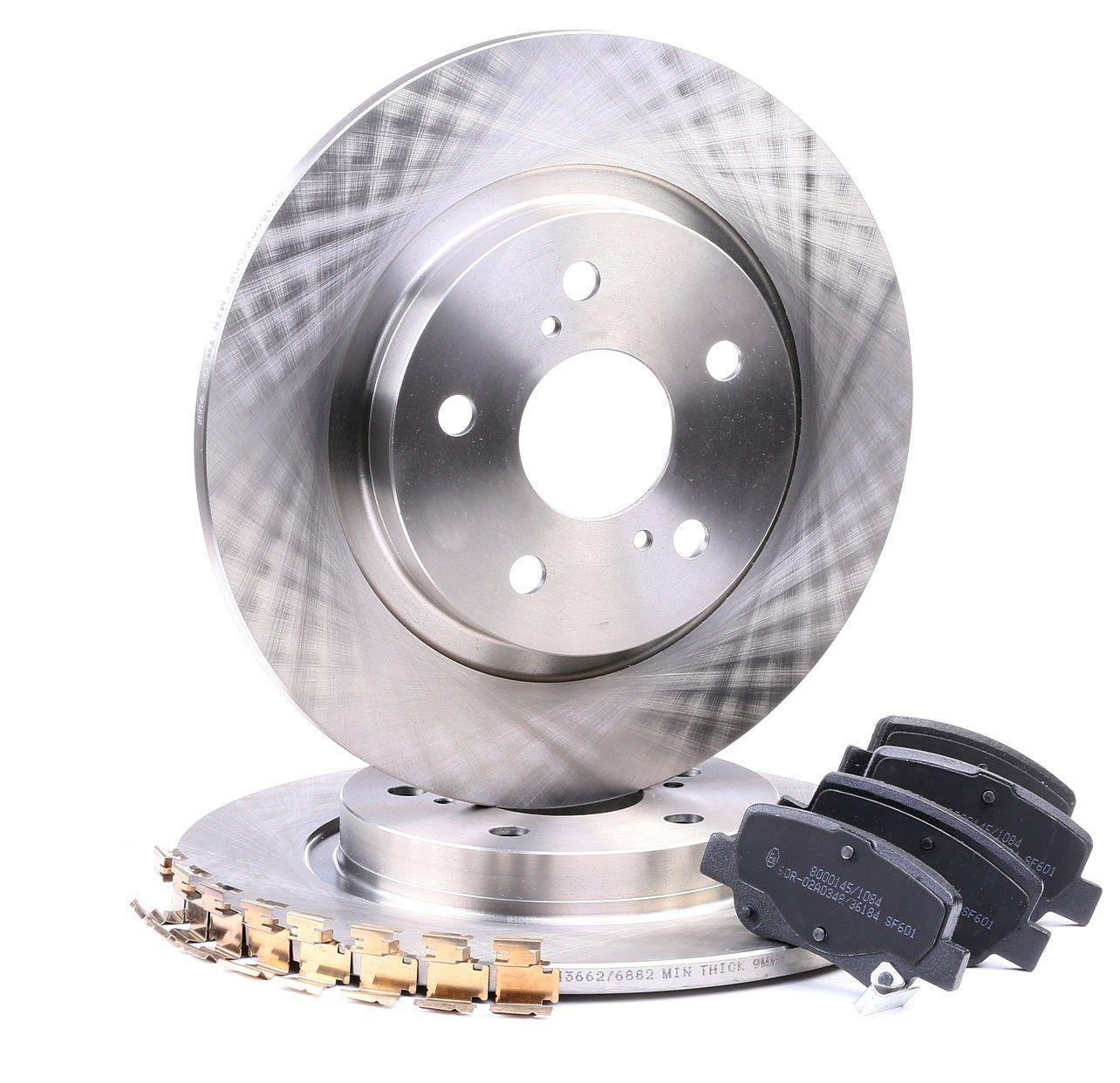 RIDEX: Original Bremsen Set 3405B0205 (Bremsscheibendicke: 11mm)