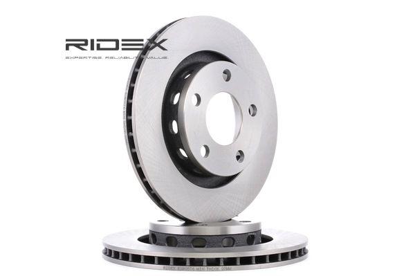 Disco freno 82B0576 con un ottimo rapporto RIDEX qualità/prezzo