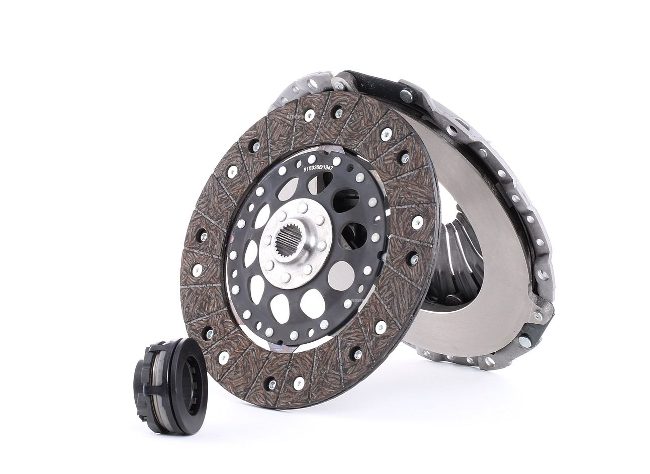 Audi A6 2017 Clutch kit RIDEX 479C0037: Three-piece, with clutch release bearing