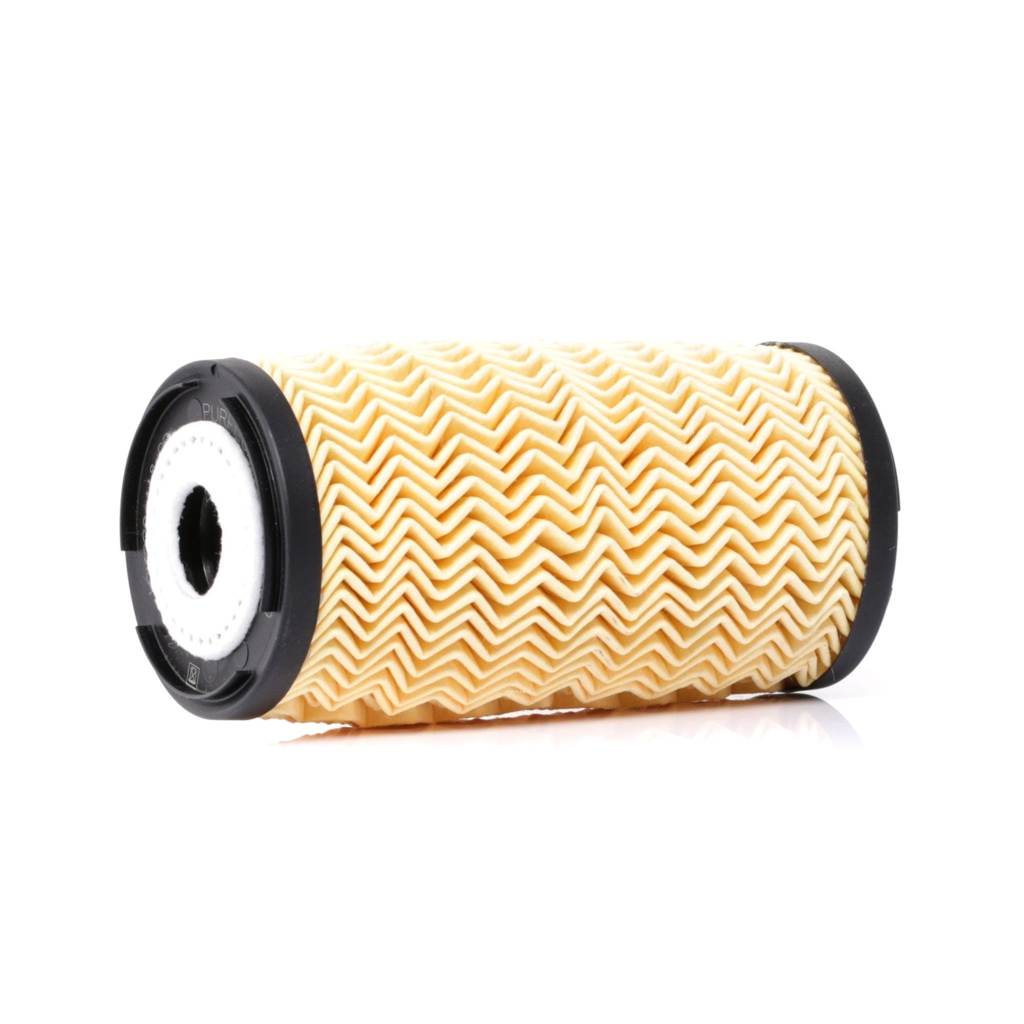 Pieces detachees RENAULT SCÉNIC 2013 : Filtre à huile PURFLUX L460 Diamètre intérieur: 28mm, Ø: 57mm, Hauteur: 116mm - Achetez tout de suite!
