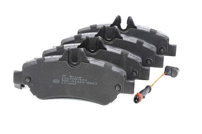 Bremsbelagsatz, Scheibenbremse 1163707610 — aktuelle Top OE 004.420.692.0 Ersatzteile-Angebote