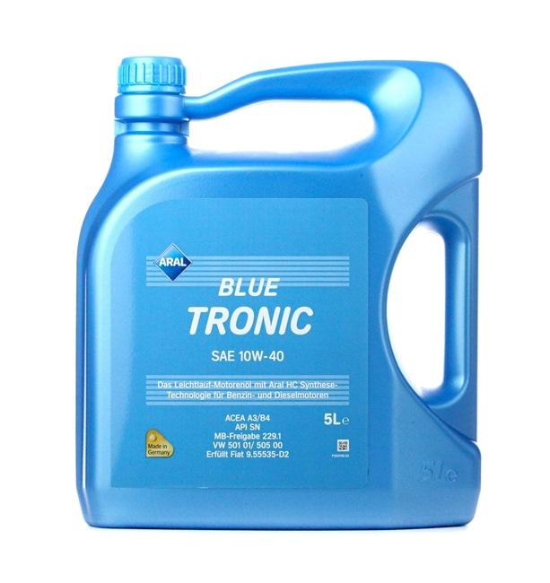originali ARAL Olio per auto 4003116204856 10W-40, 5l, Olio parzialmente sintetico