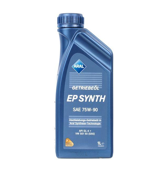 APIGL4 ARAL EP SYNTH 75W-90, Vollsynthetiköl, Inhalt: 1l API GL-4 +, VW 501 50 Getriebeöl 15546A günstig kaufen