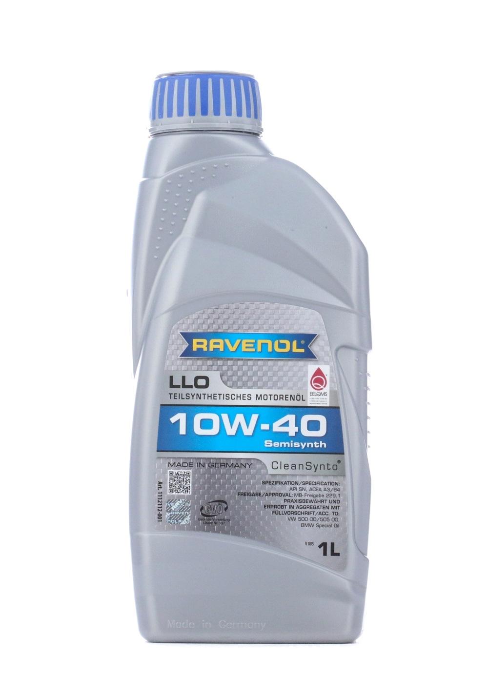 1112112-001-01-999 RAVENOL LLO 10W-40, 1l, Teilsynthetiköl Motoröl 1112112-001-01-999 günstig kaufen