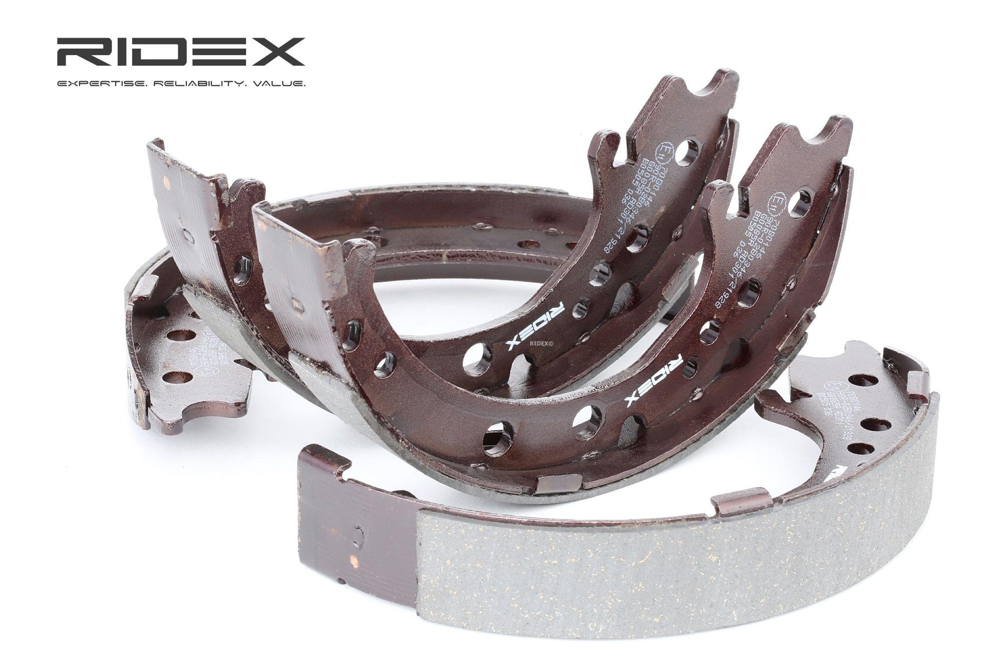RIDEX: Original Bremsbackensatz 70B0146 (Breite: 35mm)