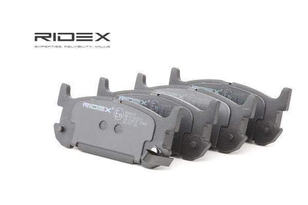 buy and replace Brake Pad Set, disc brake RIDEX 402B0879