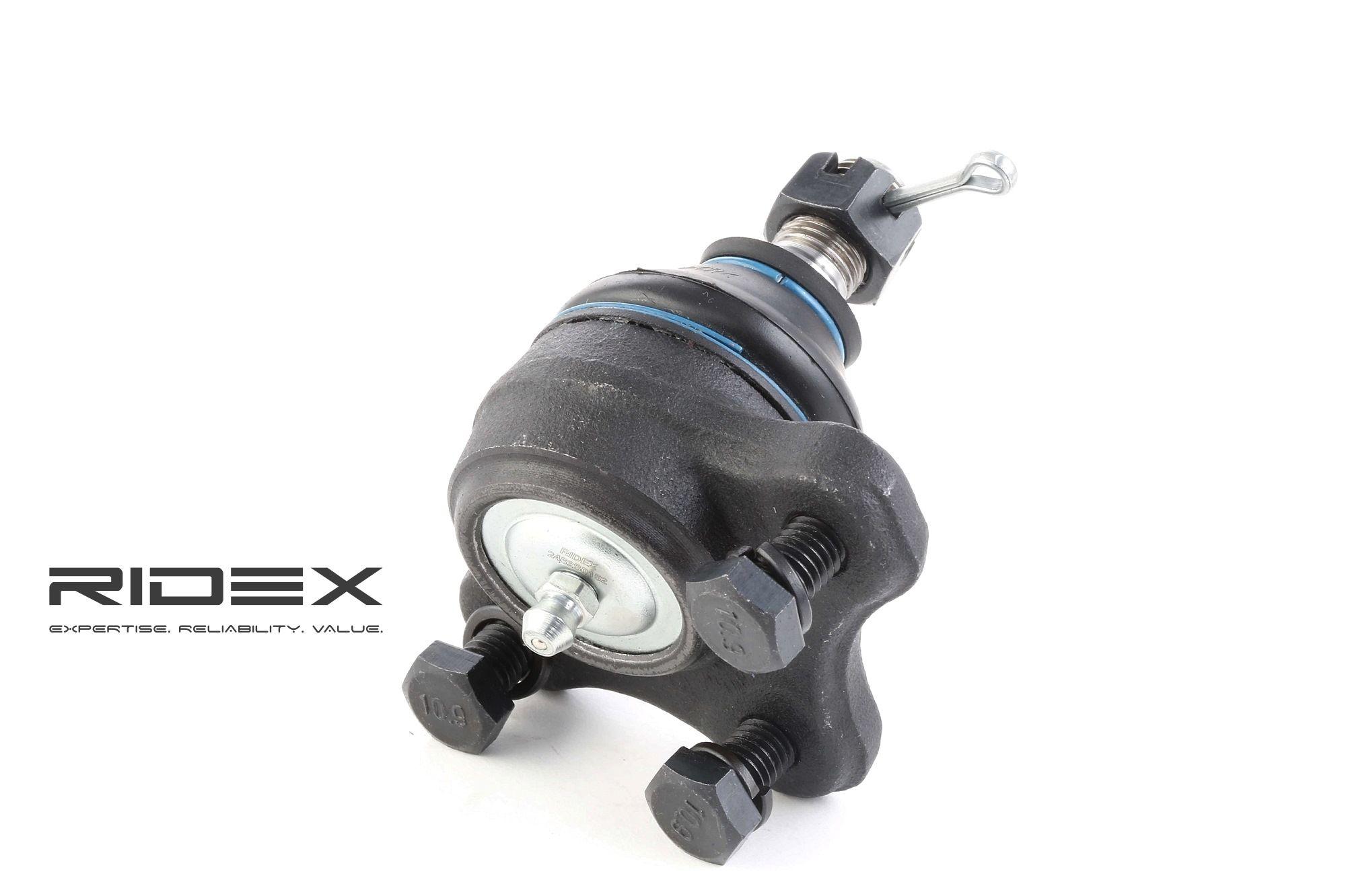 RIDEX: Original Lenkungsteile 2462S0152 (Konusmaß: 15mm, Gewindemaß: M12x1.25)