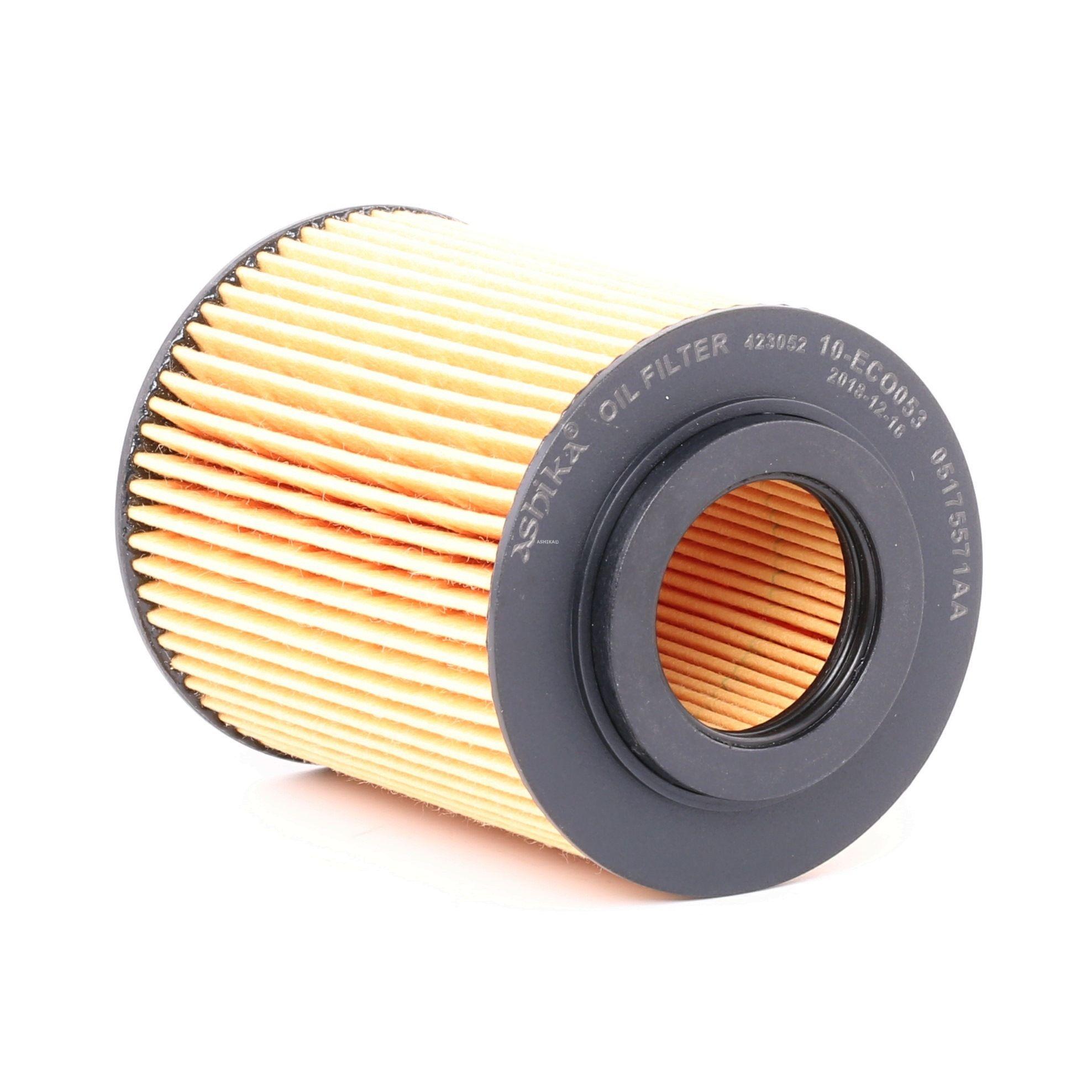 10-ECO053 ASHIKA Filtereinsatz Innendurchmesser: 31mm, Ø: 71mm, Länge: 94,5mm, Länge: 94,5mm Ölfilter 10-ECO053 günstig kaufen