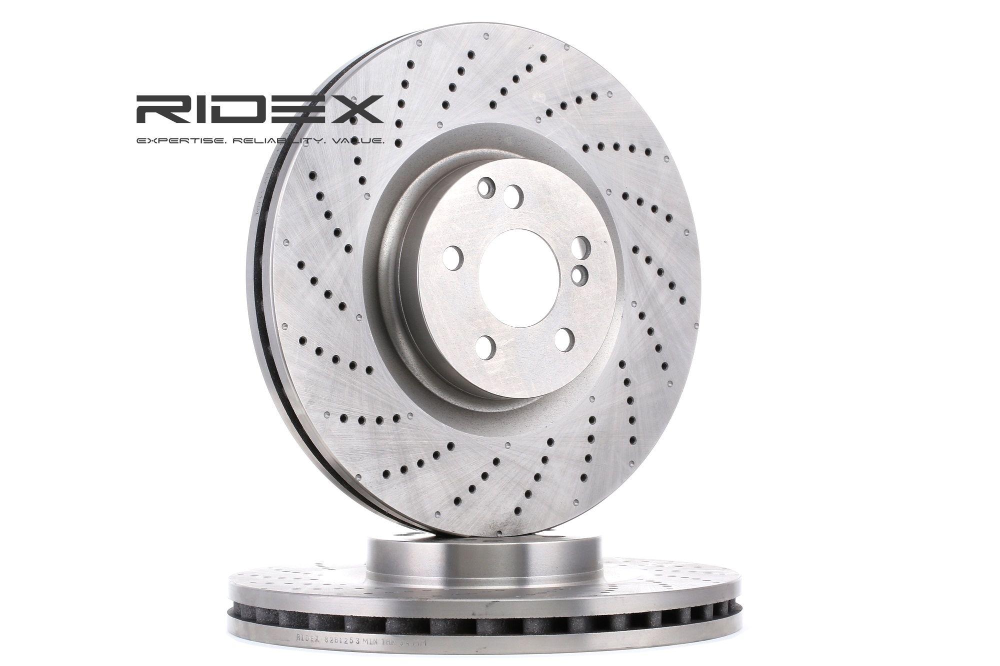 Scheibenbremsen RIDEX 82B1253