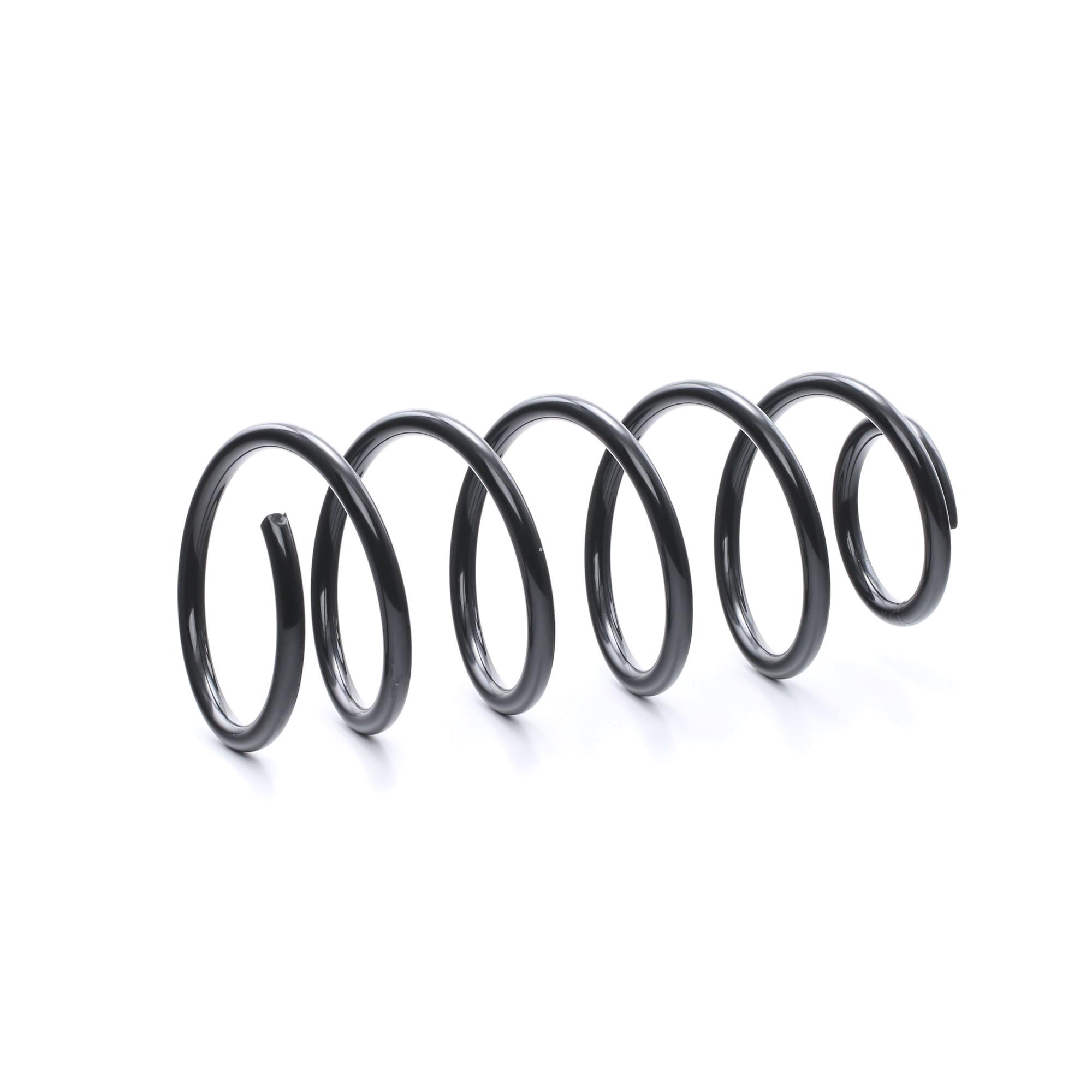 VW POLO 2021 Fahrwerksfedern - Original RIDEX 188C0195 Länge: 350mm, Länge: 350mm, Ø: 140mm, Dicke/Stärke: 12mm