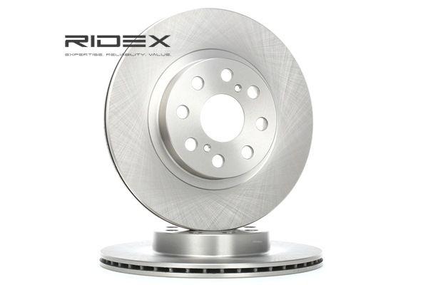 buy and replace Brake Disc RIDEX 82B1233