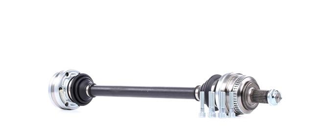 RIDEX: Original Gelenkwellen 13D0154 (Länge: 668mm, Außenverz.Radseite: 27, Zähnez. ABS-Ring: 48)