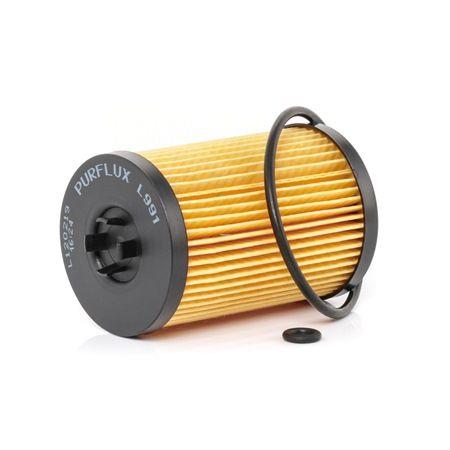 Origine Filtre à huile PURFLUX L991 (Diamètre intérieur: 33mm, Ø: 65mm, Hauteur: 104mm)
