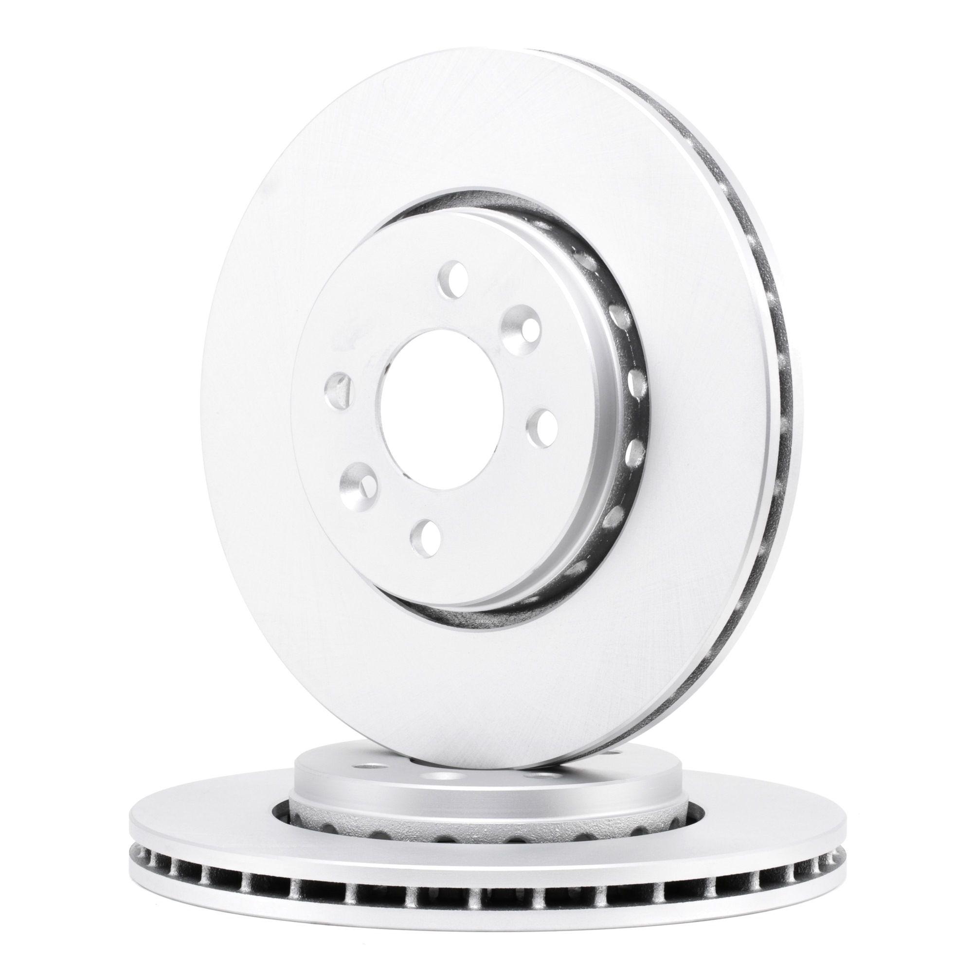 Pieces detachees RENAULT LODGY 2015 : Disque de frein FERODO DDF2350C Ø: 280mm, Nbre de trous: 4, Épaisseur du disque de frein: 24mm - Achetez tout de suite!