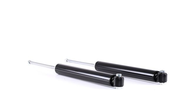 Pair Set of 2 Rear Gas-a-just KYB Shock Absorbers for Mercedes W204 W212 C207