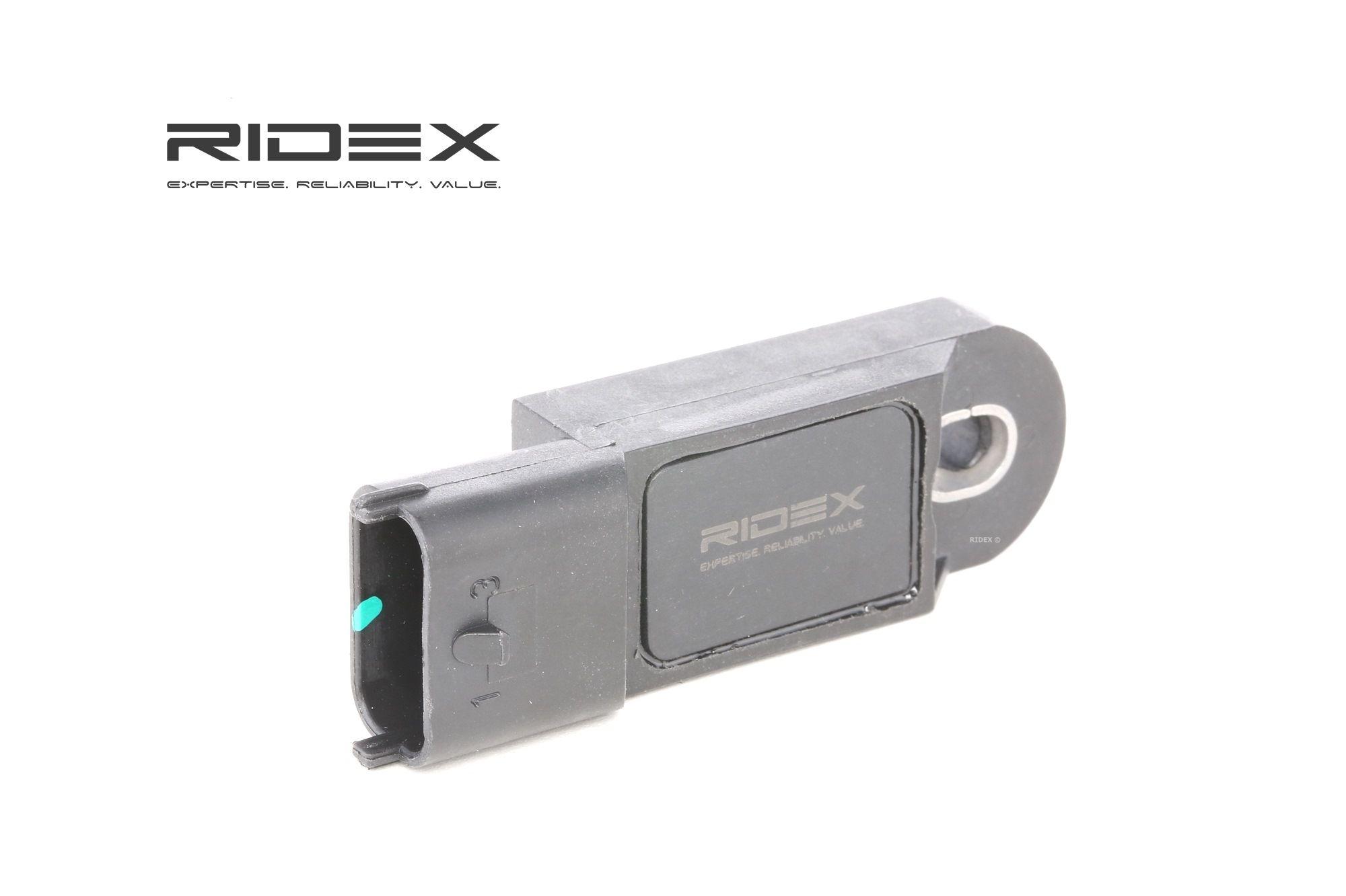 RIDEX: Original Map Sensor 161B0023 (Pol-Anzahl: 3-polig)