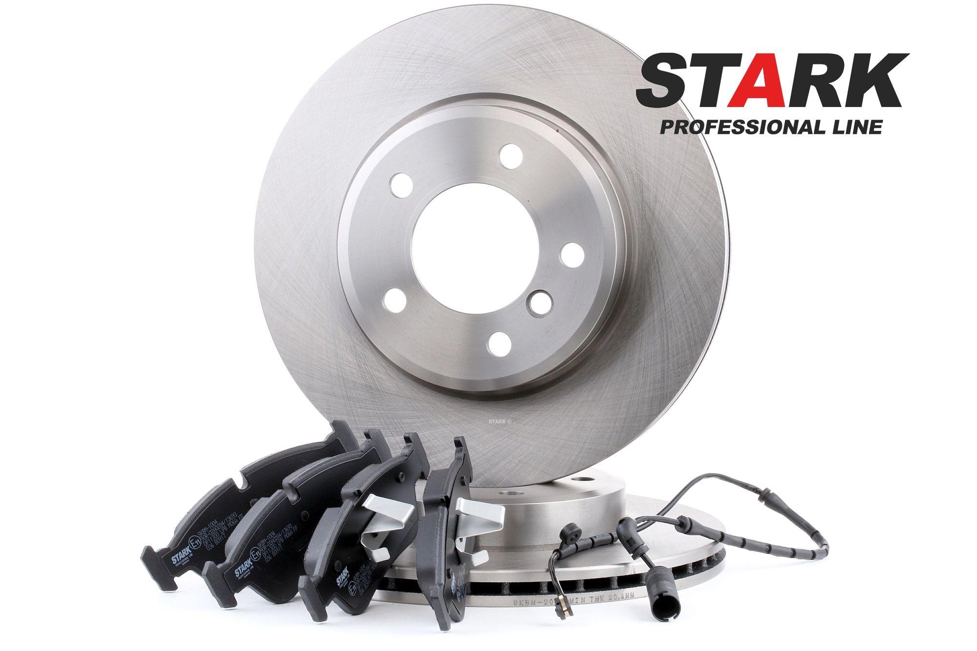 STARK: Original Bremsensatz SKBK-1090336 (Bremsscheibendicke: 22mm)