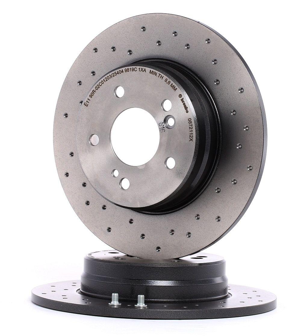 Buy cheap OEM parts: Brake Disc BREMBO XTRA LINE 08.7211.2X