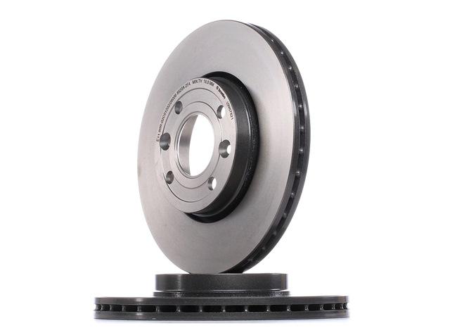 BREMBO: Original Bremsscheiben 09.9078.21 (Ø: 258mm, Lochanzahl: 4, Bremsscheibendicke: 22mm) mit vorteilhaften Preis-Leistungs-Verhältnis