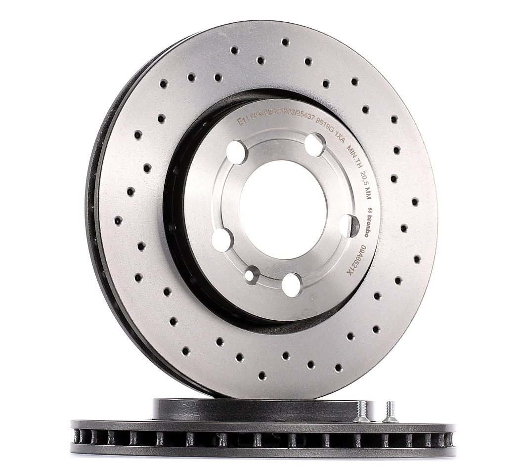 Achetez Disque BREMBO 09.A652.1X (Ø: 256mm, Nbre de trous: 5, Épaisseur du disque de frein: 22mm) à un rapport qualité-prix exceptionnel