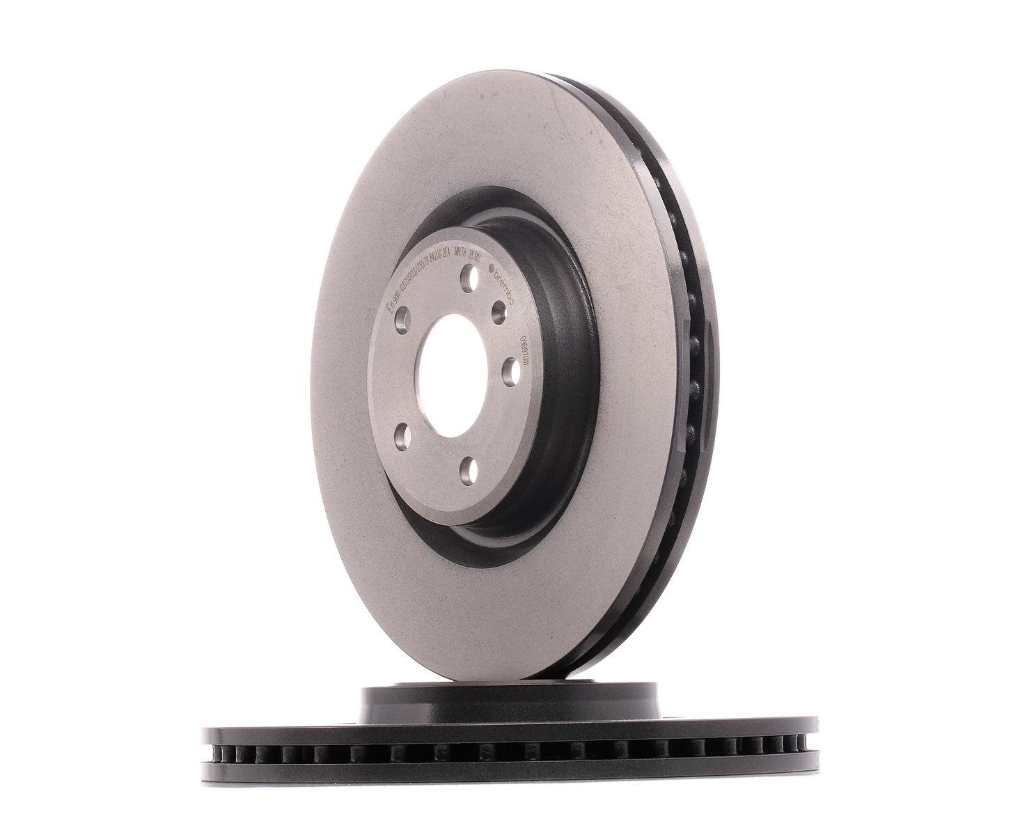 Achetez Disques de frein BREMBO 09.B970.11 (Ø: 345mm, Nbre de trous: 5, Épaisseur du disque de frein: 30mm) à un rapport qualité-prix exceptionnel