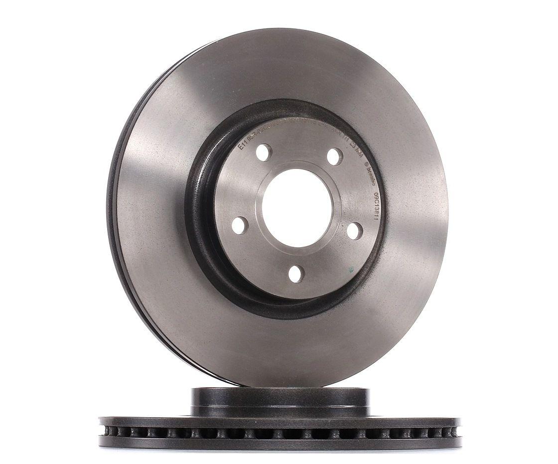 09.C138.11 BREMBO COATED DISC LINE Innenbelüftet, beschichtet Ø: 300mm, Lochanzahl: 5, Bremsscheibendicke: 25mm Bremsscheibe 09.C138.11 günstig kaufen