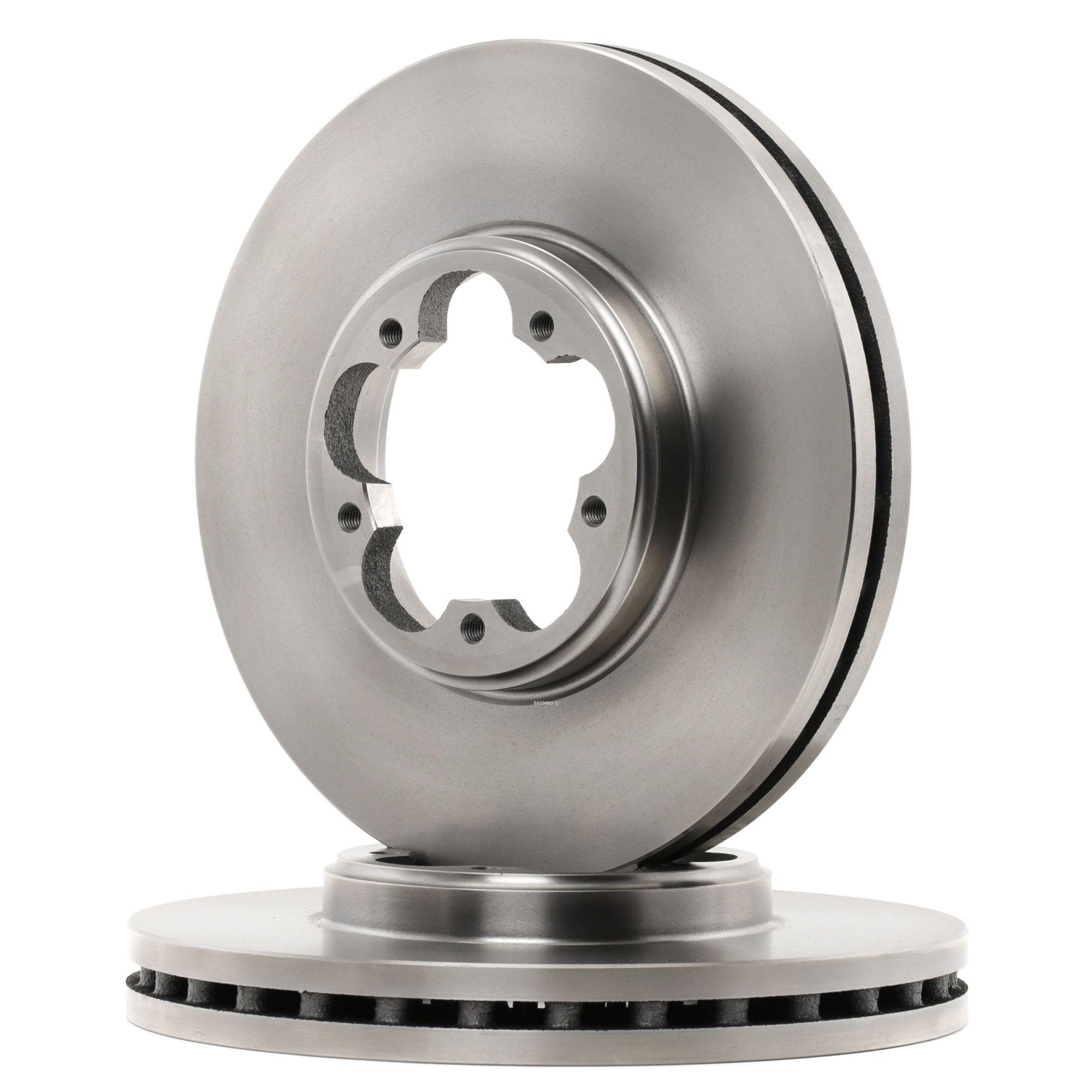 Комплект спирачни дискове 09.C240.10 с добро BREMBO съотношение цена-качество