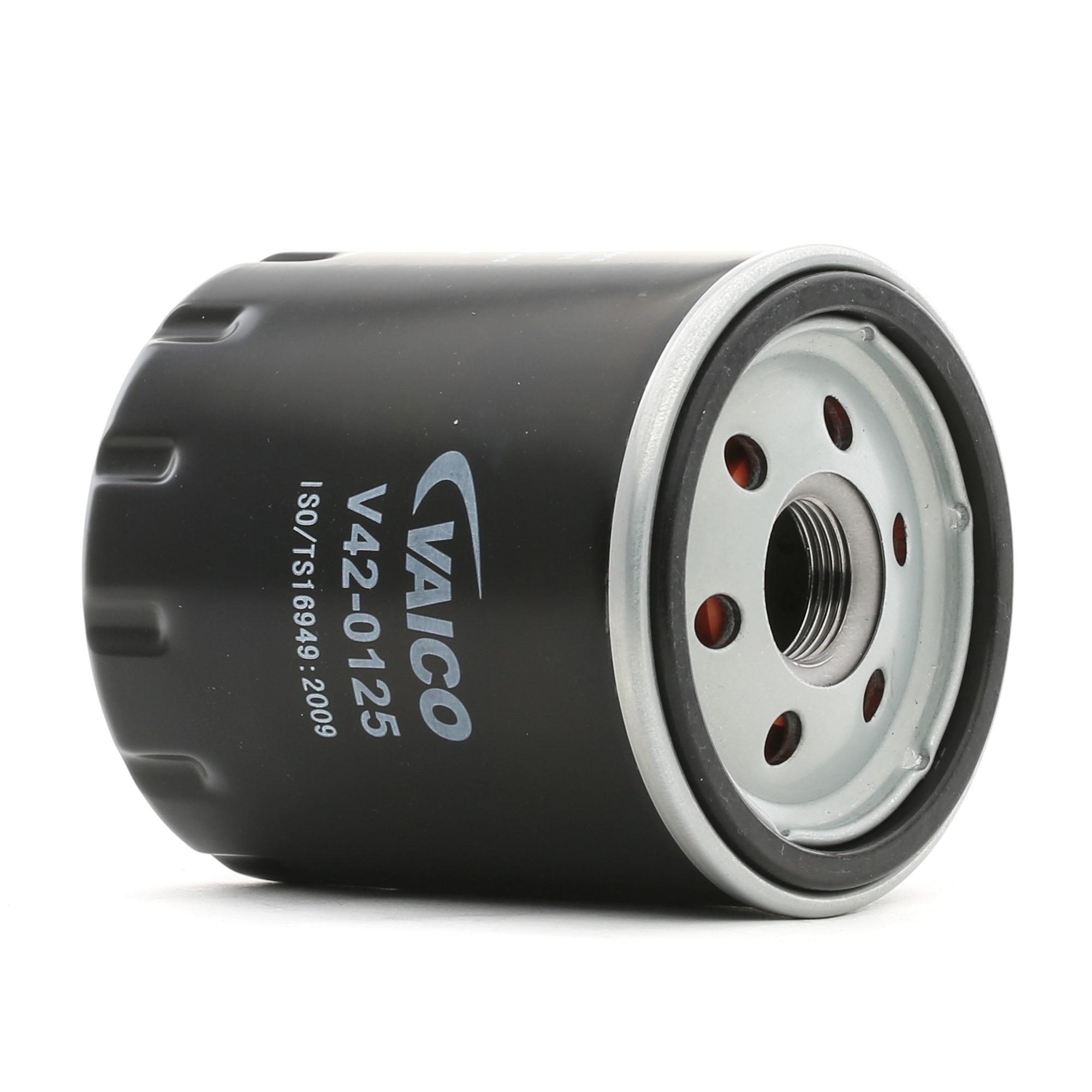 Origine Filtre à huile VAICO V42-0125 (Diamètre intérieur 2: 62mm, Diamètre intérieur 2: 71mm, Ø: 76mm, Hauteur: 89mm)