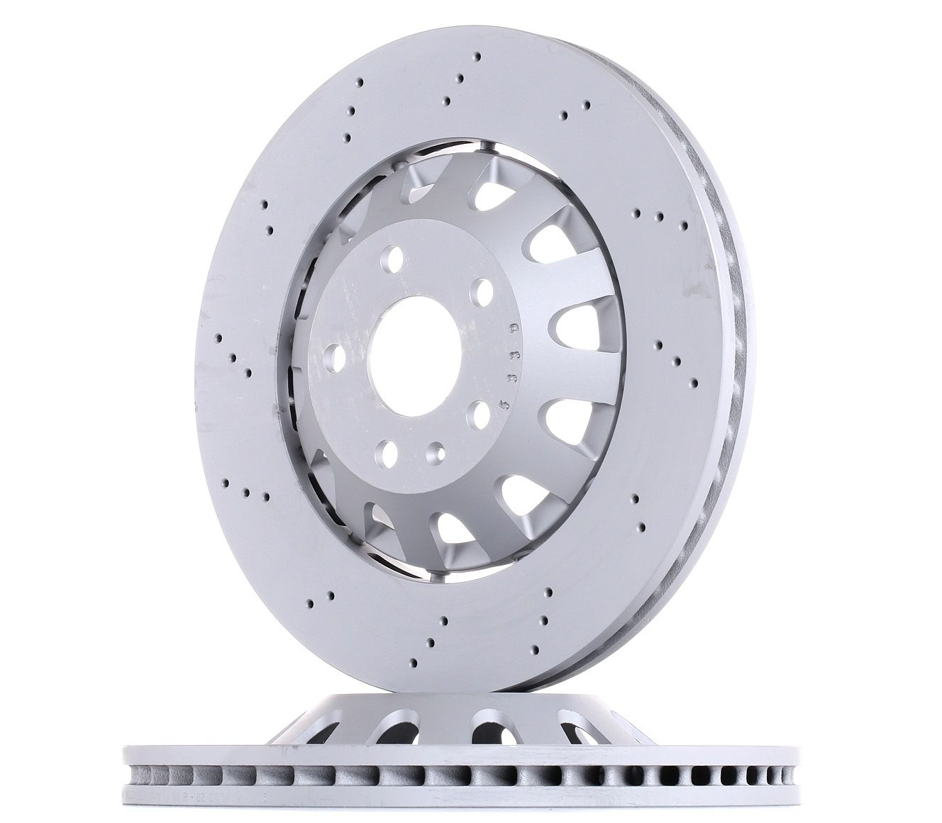 100.3368.70 ZIMMERMANN FORMULA Z COAT Z Vented, Perforated, Two-piece Brake Disc, Coated, Alloyed / High-carbon Ø: 370mm, Rim: 5-Hole, Brake Disc Thickness: 32mm Brake Disc 100.3368.70 cheap