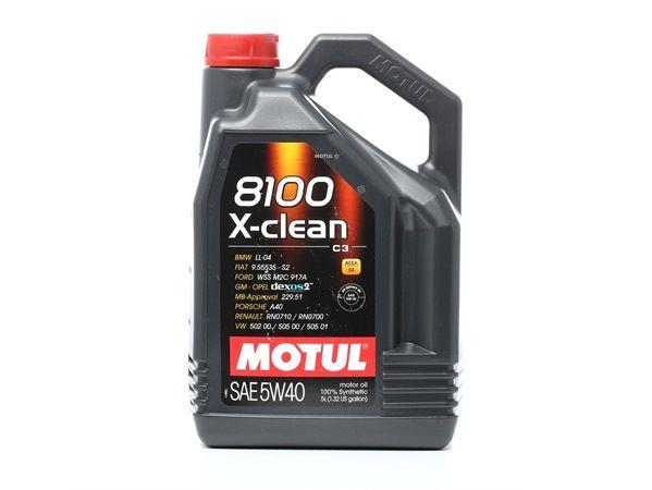 Qualitäts Öl von MOTUL 3374650233888 5W-40, 5l, Synthetiköl